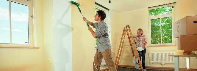 jak samodzielnie malować ściany
